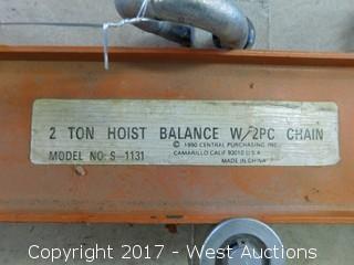 2-Ton Hoist Balance Chain