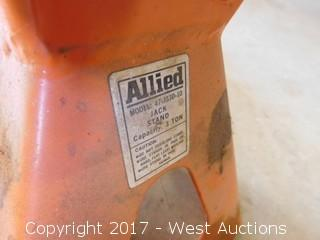 (2) Allied 3-Ton Jack Stands