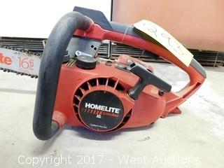 Homelite Little Red XL Gas Chain Saw