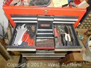 Craftsman Toolbox Full of Tools