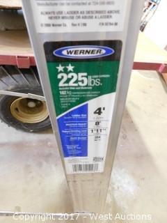 Werner 4' Aluminum Ladder