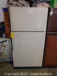 Refrigerator with Paint/Paint Supplies