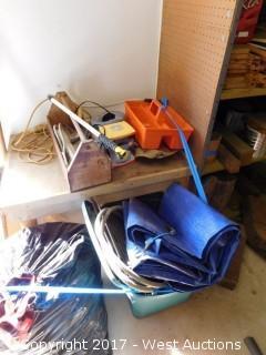 Tools, Shovels, Boxes, Buckets