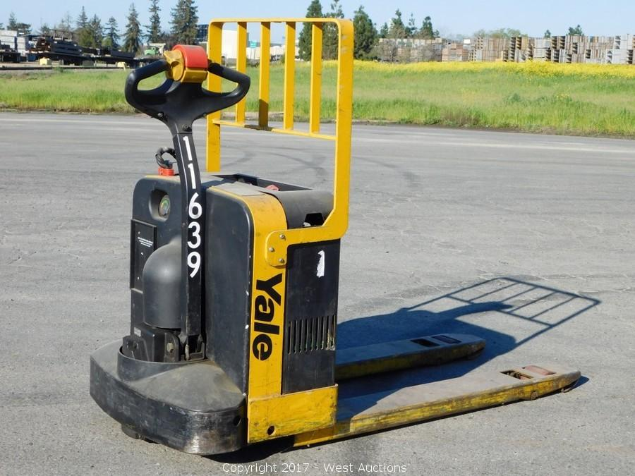 Bankruptcy Auction of 2006 International Truck, Yale Forklift and Pallet Jacks