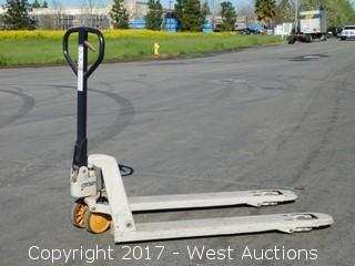 Crown 5,000 lbs. Capacity Pallet Jack