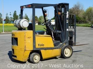 Yale 6,000 lbs. Capacity Propane Forklift