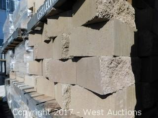 "(1) Pallet of 6"" Legacy Retaining Wall Block"