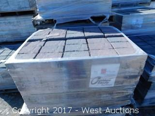 (1) Pallet of 60 mm Paver - Rectangle Carriage Stone in Napa Blend