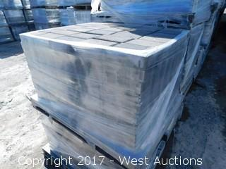 (1) Pallet of 60 mm Paver - Rectangle Castle Stone in Tahoe Blend