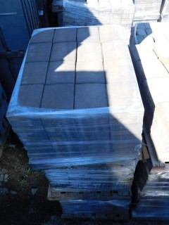 (1) Pallet of 60 mm Paver - Giant Carriage Stone in Mojave Blend