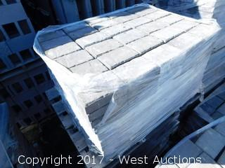 (1) Pallet of 60 mm Paver - Rectangle Carriage Stone in Mojave Blend