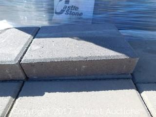 (1) Pallet of 60 mm Paver - Giant Castle Stone in Mojave Blend