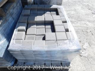(1) Pallet of 60 mm Paver - Square Castle Stone in Mojave Blend