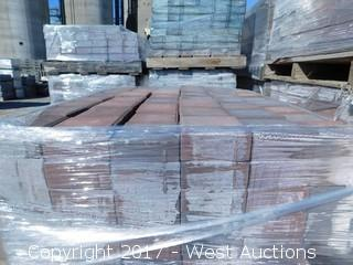 (1) Pallet of 60 mm Paver - Square Castle Stone in Napa Blend