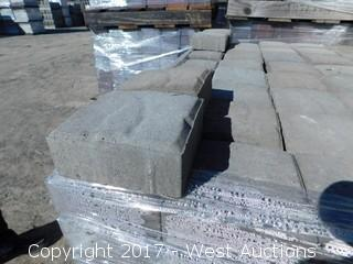 (1) Pallet of 60 mm Paver - Square Carriage Stone in Tahoe Blend