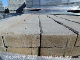 (1) Pallet of 60 mm Paver - Square Castle Tahoe Blend