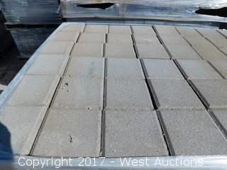 (1) Pallet of 60 mm Paver - Square Castle Tahoe Blend