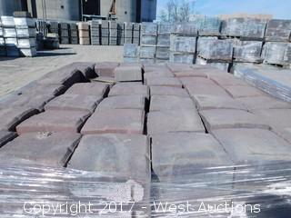 (1) Pallet of 60 mm Paver - Square Carriage Napa Blend