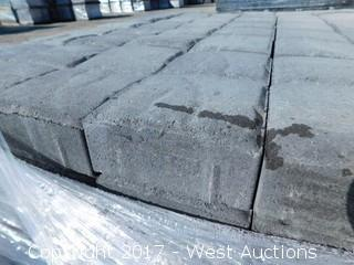 (1) Pallet of 60 mm Paver - Square Carriage Shasta Blend