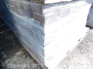 (1) Pallet of 60 mm Paver - Square Carriage Sonoma Blend