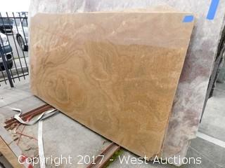 "(1) 101""x55"" Opera Primo 2CM Granite Slab"