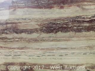 "(1) 100""x47"" River Bahia 2CM Granite Slab"