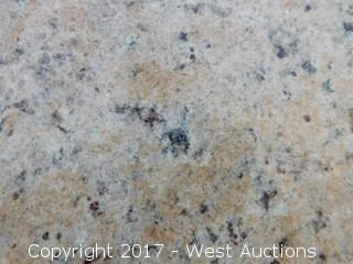 "(1) 127""x73"" Venetian Classic 2CM Granite Slab"