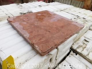 (1) Crate of 12x12 Travertine Tile