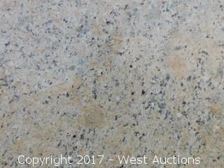 "(1) 130""x69"" Venetian Classic 2cm Granite Slab"