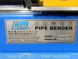 CNC Pipe Bender with Automatic Side Loader