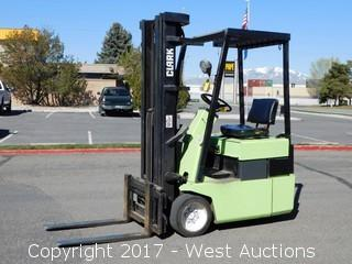 Clark TM15S 2,275 Lb. Electric Forklift