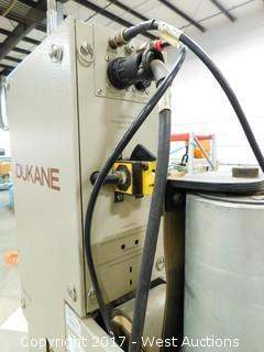 Dukane Ultrasonic Plastic Welding System with Cart