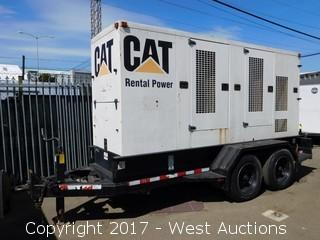 2001 CAT XQ200 Trailer Mounted Industrial Generator