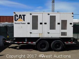 2001 CAT XQ200 Trailer Mounted Industrial Generator