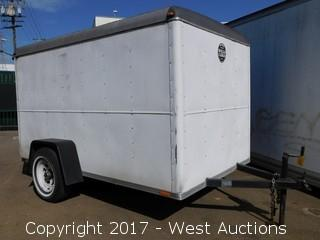 1990 Wells Cargo 10' Enclosed Cargo Trailer