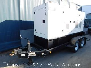 2009 CAT XQ175-2 Tier 3 Trailer Mounted Generator