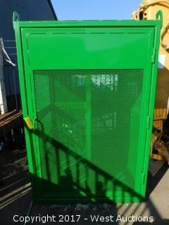"50""x50""x75"" Craneable Acetylene Bottle Cage"