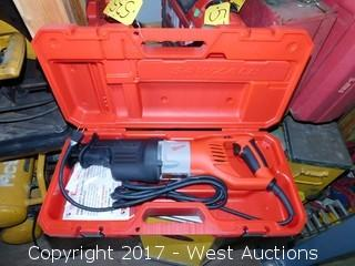 Milwaukee 6538-21 15 Amp Super Sawzall with Case