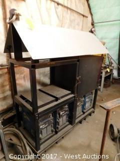 Four Welder Portable Welding Rig (welders/transformer included)