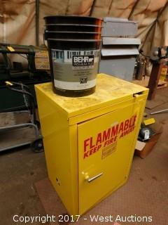 Se-Cur-All Flammable Cabinet