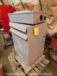 HPS 48 Volt Transformer with Breaker Box