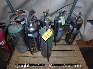 (8) Pressurized Water Fire Extinguishers