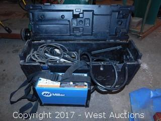 Miller Maxstar 150 STL DC Tig/Stick Welder with Case and Accessories