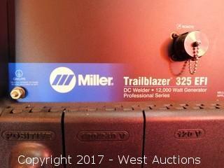 Miller Trailblazer 325 EFI 12,000 Watt DC Generator Welder