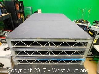 (1) 3'x4' Steel Deck Stage Platform