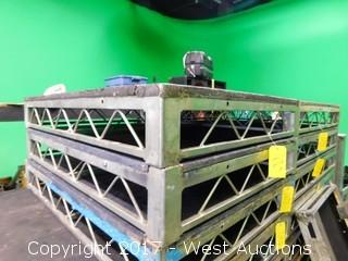 (1) 3'x4' Steel Deck Stage Platform