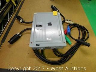 3 Phase 220V Power Distribution Box