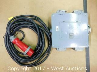 100A Power Distribution Box with 48' Cable