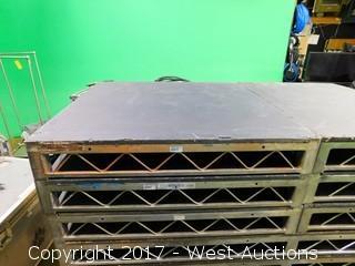 (1) 4'x4' Steel Deck Stage Platform