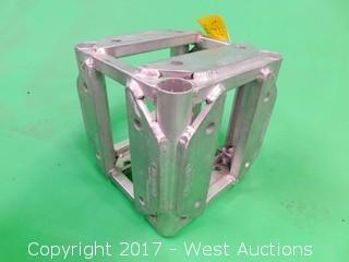"(1) Thomas 12""x12"" Aluminum 5 Way Corner Block"